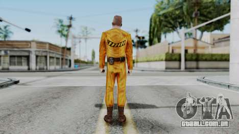 CS 1.6 Hostage A para GTA San Andreas terceira tela