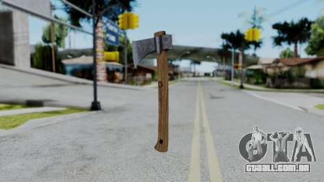 No More Room in Hell - Hatchet para GTA San Andreas segunda tela