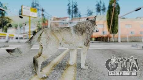 Wolf para GTA San Andreas terceira tela