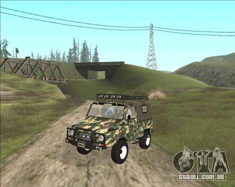 969М LuAZ Fora-de-Estrada para GTA San Andreas