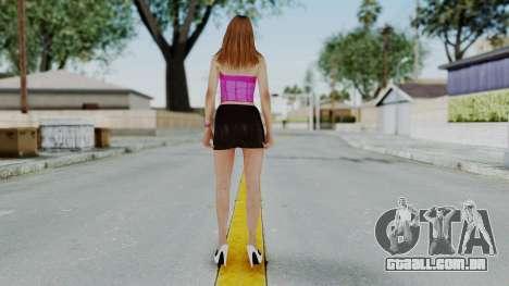 GTA 5 Hooker 01 v2 para GTA San Andreas terceira tela