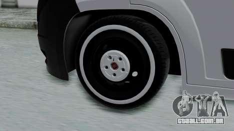 Fiat Ducato para GTA San Andreas traseira esquerda vista