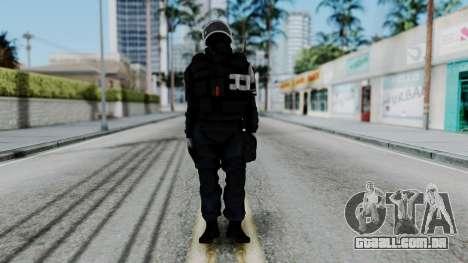 GIGN Gas Mask from Rainbow Six Siege para GTA San Andreas segunda tela