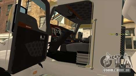 T600 Kenworth Caminhão De Cimento para GTA San Andreas vista direita
