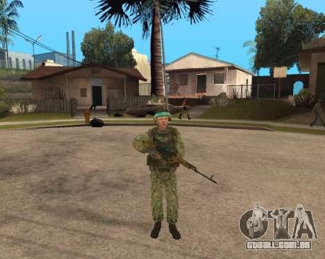 O exército russo Skin Pack para GTA San Andreas