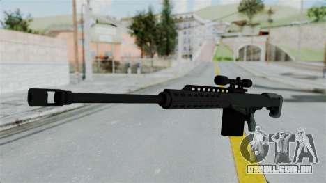 GTA 5 Heavy Sniper (M82 Barret) para GTA San Andreas segunda tela