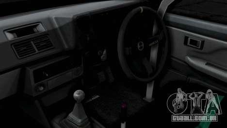 Toyota AE86 Trueno Hella para GTA San Andreas vista direita