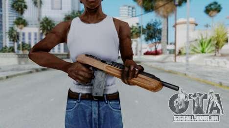 M1 Enforcer para GTA San Andreas terceira tela