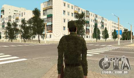 Soldados das forças armadas para GTA San Andreas por diante tela