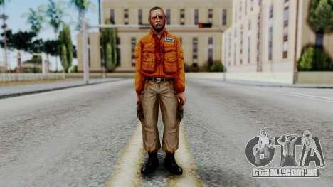 CS 1.6 Hostage 02 para GTA San Andreas segunda tela