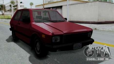 Yugo GV US para GTA San Andreas