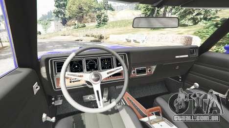 GTA 5 Buick Skylark GSX 1970 traseira direita vista lateral