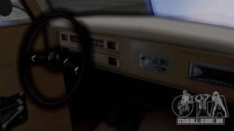 Lincoln Continental 1942 Mafia 2 v1 para GTA San Andreas vista traseira