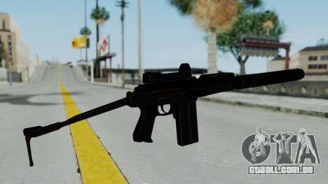 9A-91 Kobra and Suppressor para GTA San Andreas segunda tela