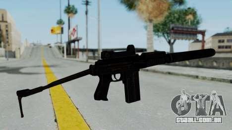 9A-91 Kobra and Suppressor para GTA San Andreas segunda tela