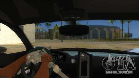 GTA 5 Progen T20 Lights version para GTA San Andreas vista interior