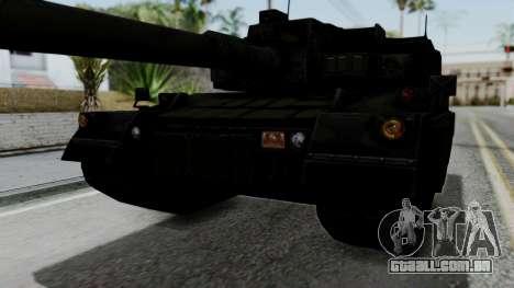 Point Blank Black Panther Woodland IVF para vista lateral GTA San Andreas