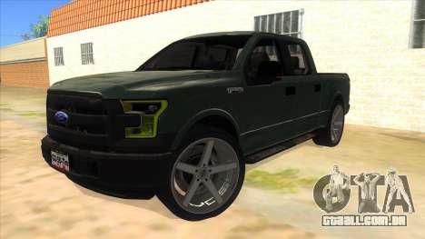 Ford F-150 2015 para GTA San Andreas