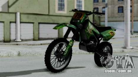 GTA 5 Maibatsu Sanchez para GTA San Andreas