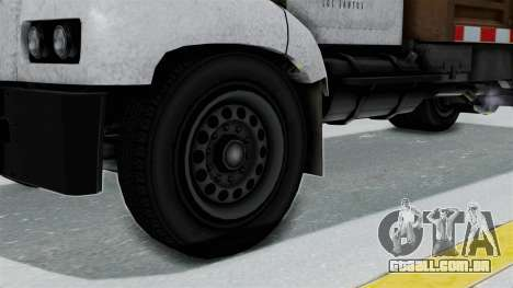 GTA 5 Tipper Second Generation para GTA San Andreas traseira esquerda vista