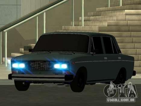 VAZ 2106 BPAN para GTA San Andreas