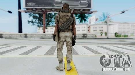 Crysis 2 US Soldier 2 Bodygroup B para GTA San Andreas terceira tela