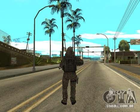 O exército russo Skin Pack para GTA San Andreas oitavo tela