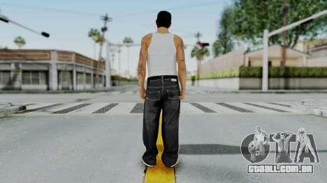 GTA 5 Mexican Goon 1 para GTA San Andreas terceira tela