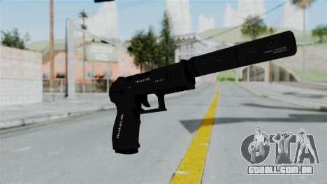 GTA 5 Combat Pistol para GTA San Andreas segunda tela