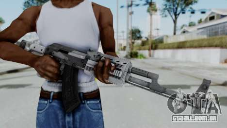 GTA 5 Assault Rifle - Misterix 4 Weapons para GTA San Andreas terceira tela