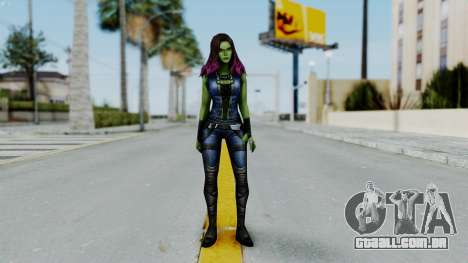 Marvel Future Fight - Gamora para GTA San Andreas segunda tela