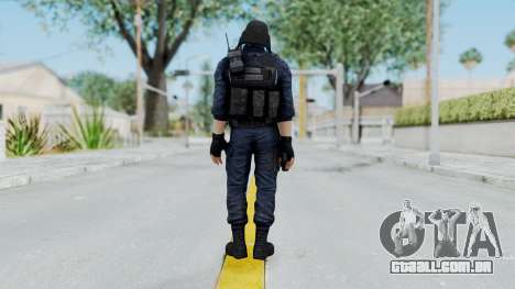 GIGN 1 No Mask from CSO2 para GTA San Andreas terceira tela