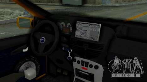 Zastava 10 2006 Final Version para GTA San Andreas traseira esquerda vista