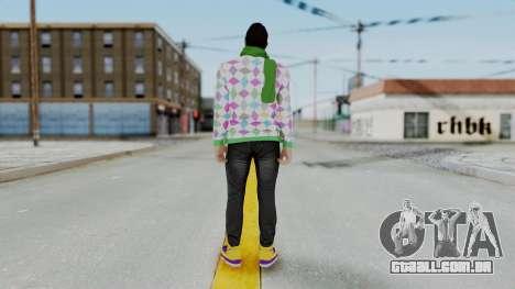 GTA Online Skin (DaniRep) para GTA San Andreas terceira tela