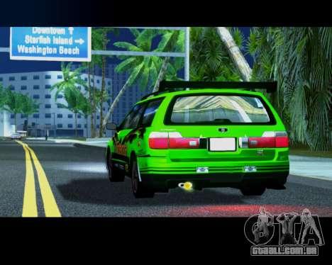 Nissan Stagea Tunable para GTA San Andreas vista direita