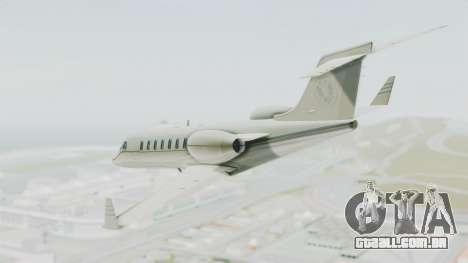 GTA 5 Luxor Deluxe para GTA San Andreas vista direita
