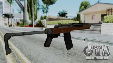 G36C para GTA San Andreas segunda tela