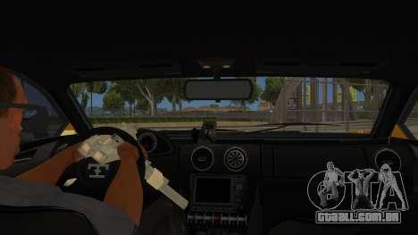 GTA 5 Truffade Adder para GTA San Andreas vista interior