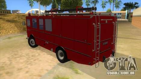Roman 8135 FA para GTA San Andreas traseira esquerda vista