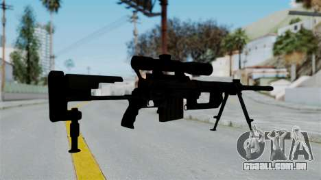 M2000 CheyTac Intervention para GTA San Andreas terceira tela