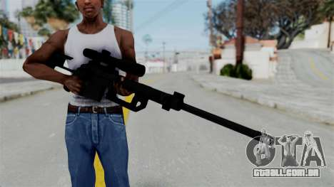 M2000 CheyTac Intervention without Stands para GTA San Andreas