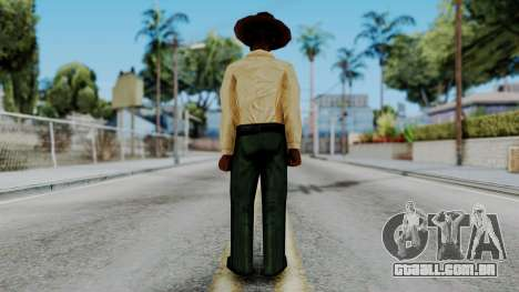 Instructor v2 from Half Life Opposing Force para GTA San Andreas terceira tela