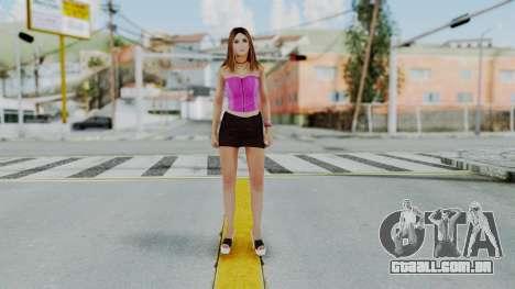 GTA 5 Hooker 01 v2 para GTA San Andreas segunda tela