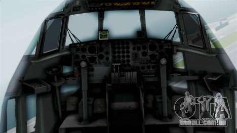 KC-130 Air Tanker para GTA San Andreas vista traseira
