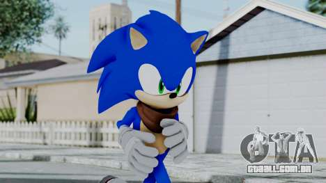 Sonic Boom para GTA San Andreas