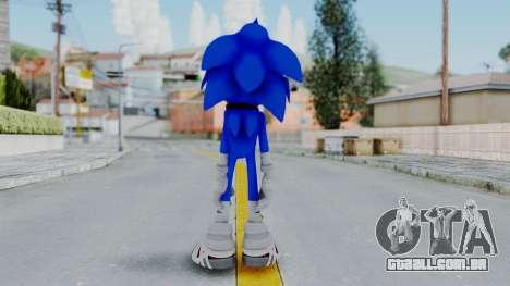 Sonic Boom para GTA San Andreas terceira tela