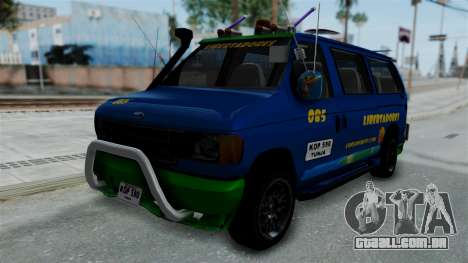 Ford E-150 Stylo Colombia para GTA San Andreas