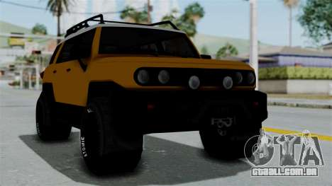 GTA 5 Karin Beejay XL Offroad para GTA San Andreas