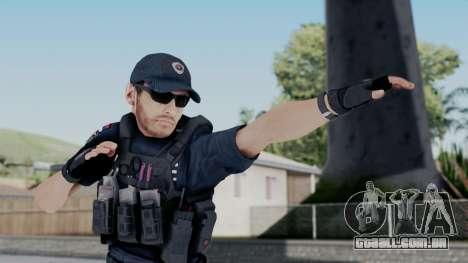 Interventna Jedinica Policije para GTA San Andreas