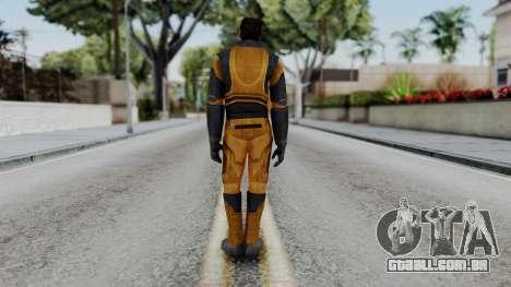 Gordon Freeman Skin para GTA San Andreas terceira tela